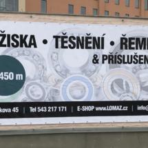 Reklamní bannery Brno