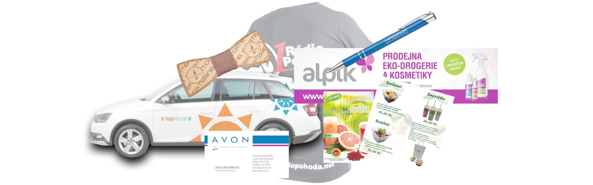Reklama,tisk, grafika Brno